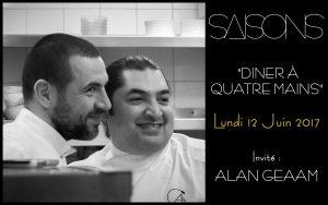 Alan Geaam vient cuisiner à Marseille aux côtés de Julien Diaz