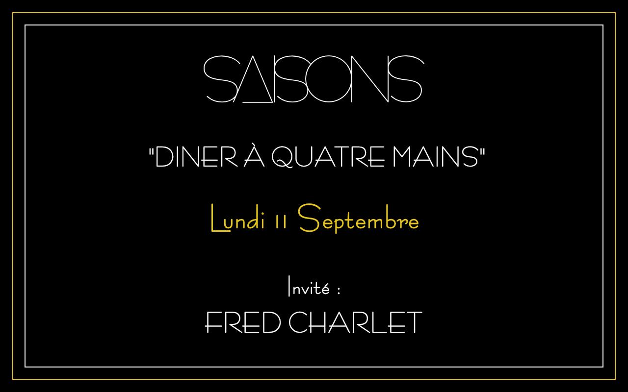 Diner à 4 mains avec Frédéric Charlet - bis