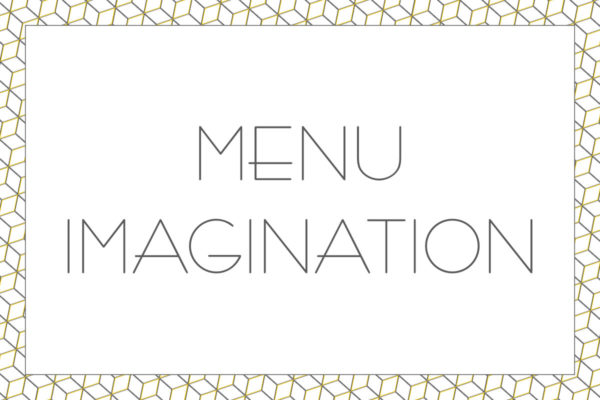Menu IMAGINATION - Restaurant Saisons