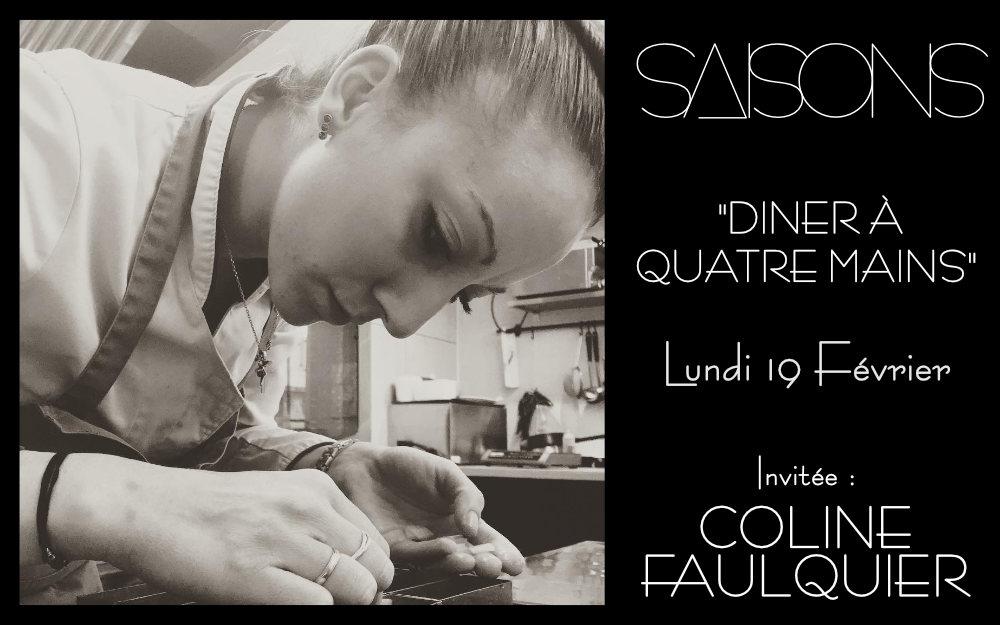 Diner à 4 mains avec Coline Faulquier