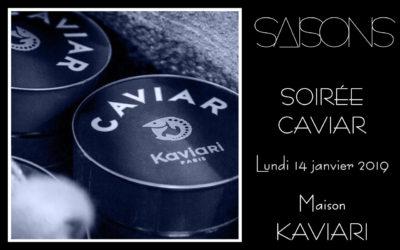 Soirée Caviar – Nouvel An Russe 2019