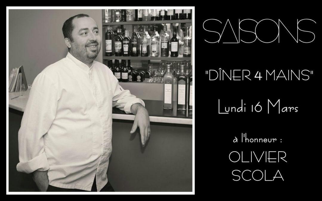 Dîner 4 Mains avec le Chef Olivier Scola